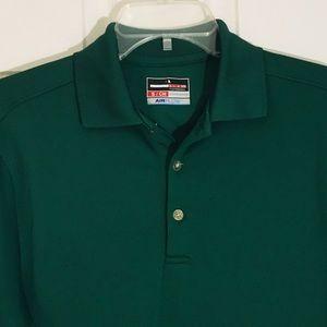 Grand Slam Shirts - Grand Slam green golf polo small
